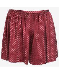 Thakoon Polka Dot Shorts - Lyst