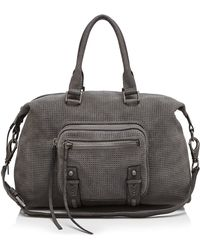 She + Lo - Aim High Perforated Satchel - Lyst
