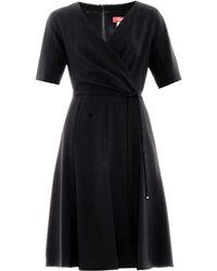 Max Mara Studio Pietra Dress black - Lyst