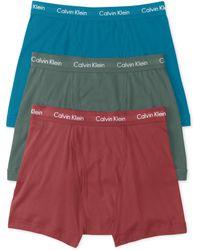 Calvin Klein Mens Cotton Classic Boxer Briefs 3pack - Lyst