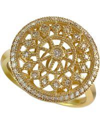 Effy - Doro 14kt. Yellow Gold And Diamond Ring - Lyst
