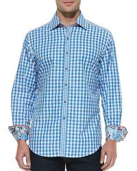 Robert Graham Bugspray Check Sport Shirt - Lyst