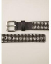 Diesel Black Gold - 'Benjamin-A' Studded Belt - Lyst