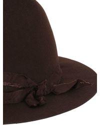 Barbisio - Ranger Wool Felt Hat - Lyst
