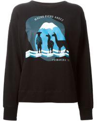Etoile Isabel Marant Franklin Cotton Sweatshirt - Lyst