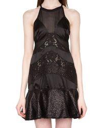 Pixie Market Anais Lace Flare Dress - Lyst