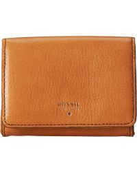 Fossil Sydney Gusseted Key Case brown - Lyst