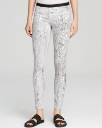 Helmut Lang Pants - Lightening Print - Lyst