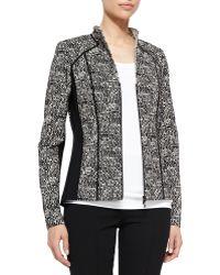 Lafayette 148 New York Amia Tweed Jacket - Lyst