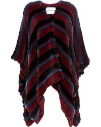 Sonia Rykiel Knitted Tricot Rex Cape - Lyst