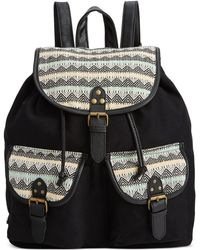 Rampage - Fold Over Flap Backpack - Lyst
