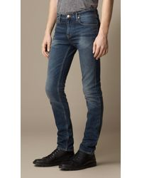 Burberry Shoreditch Indigo Skinny Fit Jeans - Lyst