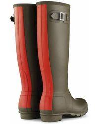 Hunter Original Stripe Rain Boots - Lyst