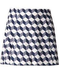 O'2nd - Cube Print Puzzle Shorts - Lyst