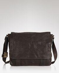 Frye - Flap Messenger Bag - Lyst