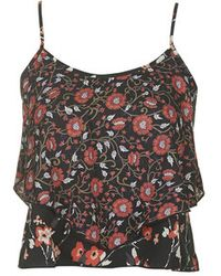 Topshop Floral Mix Print Cami By Band Of Gypsies - Lyst