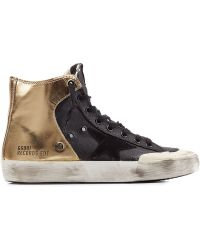 Golden Goose Deluxe Brand Francy Sneakers With Leather - Lyst