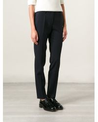 Incotex Tapered Leg Classic Trousers - Lyst