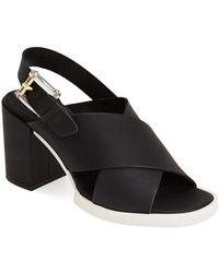 Miista 'Delilah' Ankle Strap Sandal - Lyst