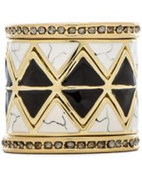 House Of Harlow Reflector Ring Stack - Lyst