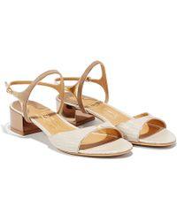 Ferragamo Ankle-Strap Sandal - Lyst
