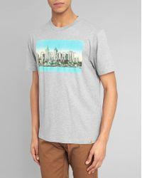 Carhartt Mottled Detroit Print T-Shirt - Lyst