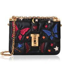 Valentino | B-Rockstud Embroidered Cross-Body Bag | Lyst