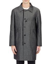 Yang Li Denim Overcoat - Lyst