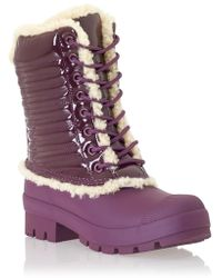 Hunter Orignal Patent Pac Boot - Lyst