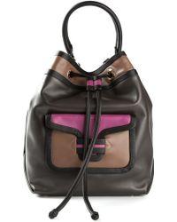 Pierre Hardy Colour Block Shoulder Bag - Lyst
