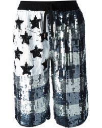 Filles A Papa - Sequin Shorts - Lyst