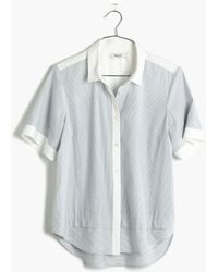 Madewell Coastline Button-Down Shirt - Lyst