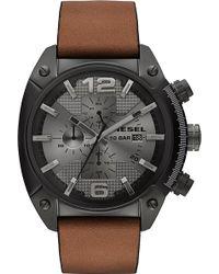 Diesel Dz4317 Overflow Chronograph Watch - For Men - Lyst
