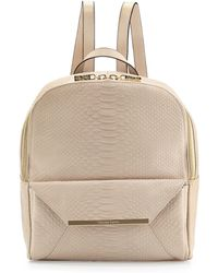 Christian Lacroix - Aurora Snake-embossed Backpack - Lyst