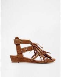 SuperTrash - Elena Gladiator Tassle Sandals - Lyst