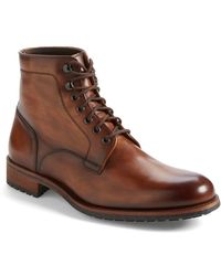 Magnanni 'Marcelo' Plain Toe Boot - Lyst