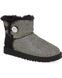 Ugg Bling Sting Ankle Boots - Lyst