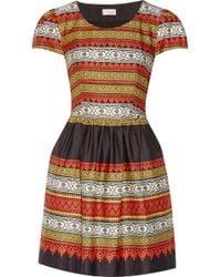 Temperley London Marlene Printed Cotton Dress - Lyst