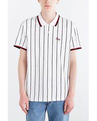 Obey Association Polo Shirt - Lyst