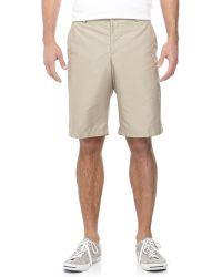 J. Lindeberg True Micro Twill Shorts - Lyst