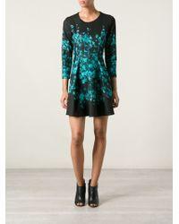 Sonia By Sonia Rykiel Floral Print Flared Dress - Lyst