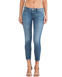 Mother The Looker Crop - Lyst