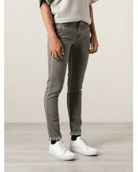 Dondup Slim Trousers - Lyst