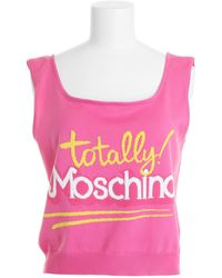 Moschino Tank Top - Lyst