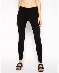 Earth Couture - Zip Detail Leggings - Lyst