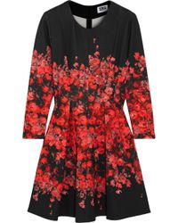 Sonia By Sonia Rykiel Floralprint Stretchjersey Mini Dress - Lyst