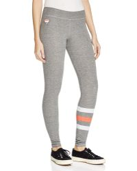Sundry | Stripe Leg Yoga Pants | Lyst