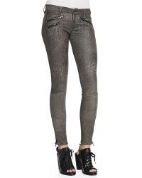 Rag & Bone Rbw 23 Leopard-print Leather Pants  - Lyst