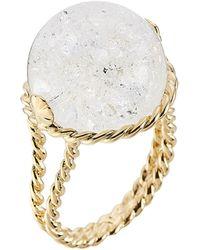 Aurelie Bidermann Lakotas Mountain Crystal Ring - Lyst