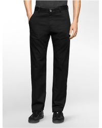 Calvin Klein | White Label Straight Fit Dobby Pants | Lyst